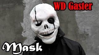 Как сделать маску WD Gaster из бумаги или пластика