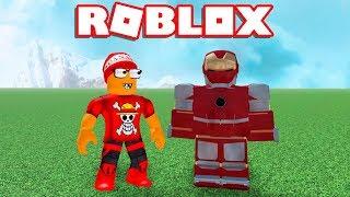IRON MAN's NEW ARMOR in ROBLOX → Iron Man Simulator 🎮