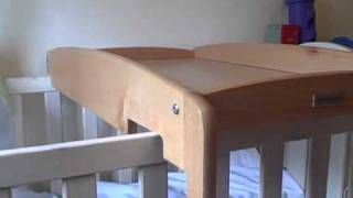 Baby Cot Top Changer Changing Table Unit--mamas & Papas