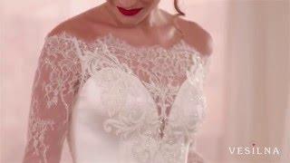 Прямое свадебное платье от VESILNA™ модель 3012