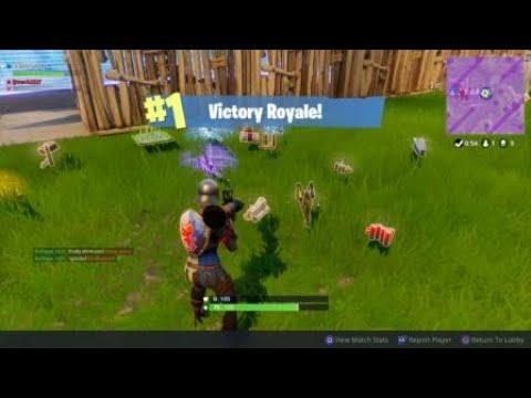 Fortnite Duos Win:  RPG is Key
