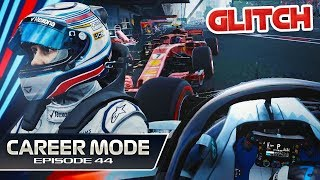 F1 2018 Career Mode Part 44: Kimi's Pitlane Glitch