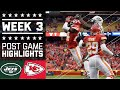Jets vs. Chiefs | NFL Week 3 Game Highlights
