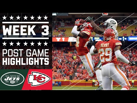 Jets vs. Chiefs (Week 3) | Post Game Highlights | NFL