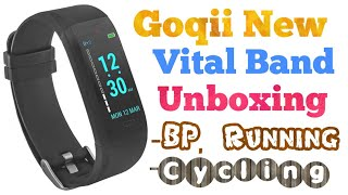 Goqii New Fitness Vital Band Unboxing and Quick Review