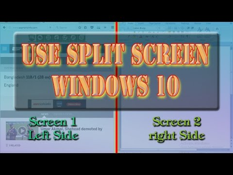 How To Use Split Screen In Windows 10 | Definite Solutions