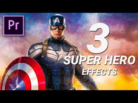 3 Superhero Visual Effects In Premiere Pro | Cinecom net