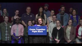 Crowd At The Maine DNC Unity Tour Boos Tom Perez