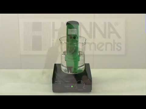 Demonstration: The Effects of Chlorine and pH on ORP Readings in Water