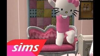 Repeat youtube video Hello Kitty by Avril Lavigne (Sims 2)