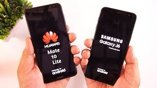 Samsung Galaxy J6 vs Huawei Mate 10 Lite Camera/Speed Test [Urdu/Hindi]