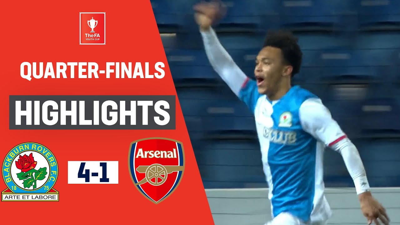 Rovers Storm Through to the Semi-Finals | Blackburn Rovers U18 4-1 Arsenal U18 | FA Youth Cup 19/20