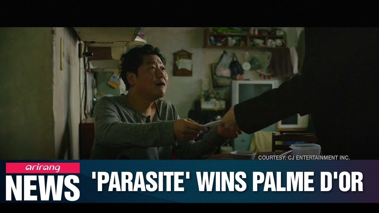 S  Korean film director Bong Joon-ho's 'Parasite' grabs Palme d'Or at Cannes