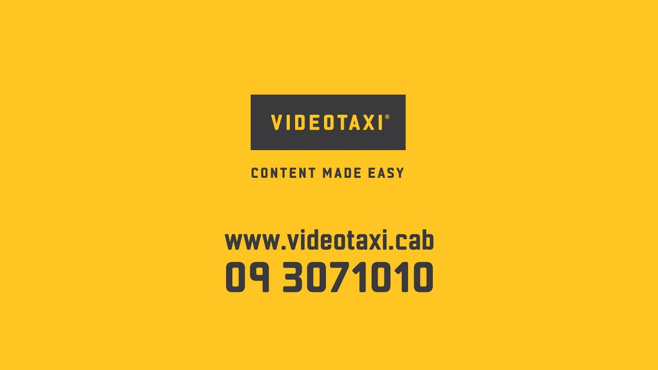 New VideoTaxi advert hits the airwaves! | Video Production Auckland