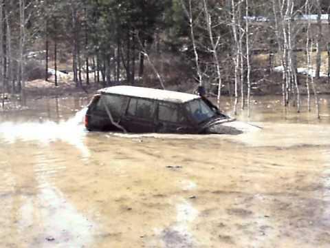 Full Snorkel 7ft Deep Water Crossing Jeep Cherokee Floats