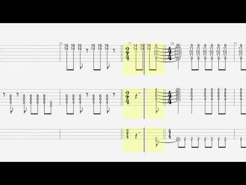 ハイスクール [ANIME SIDE] -Bootleg- - 覆面系ノイズ OP - Guitar Cover w/ Tabs