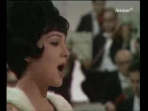 "TERESA STRATAS sings ""DONDE LIETA USCI"" from Puccini's La Boheme"" 1969"