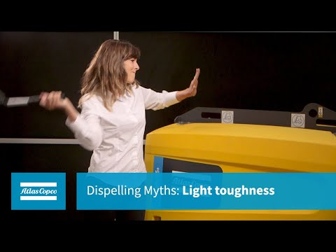 Atlas Copco Dispelling Myths: Light Toughness