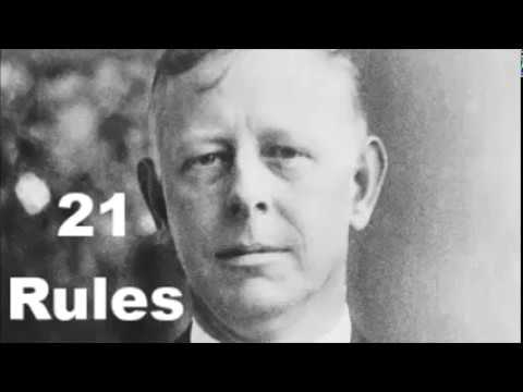 Jesse Livermore's 21 Investing Rules