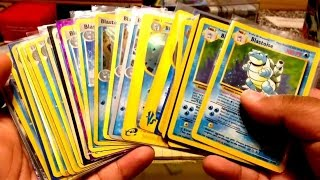 My Pokemon Blastoise Card Collection (In Progress) :D