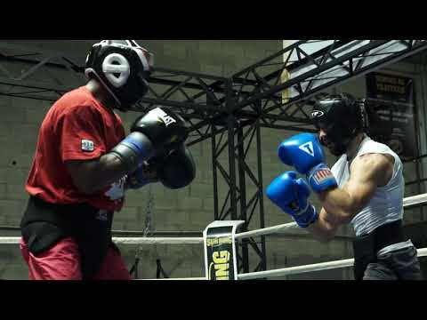 Custio Clayton Sparring with Tony Luis