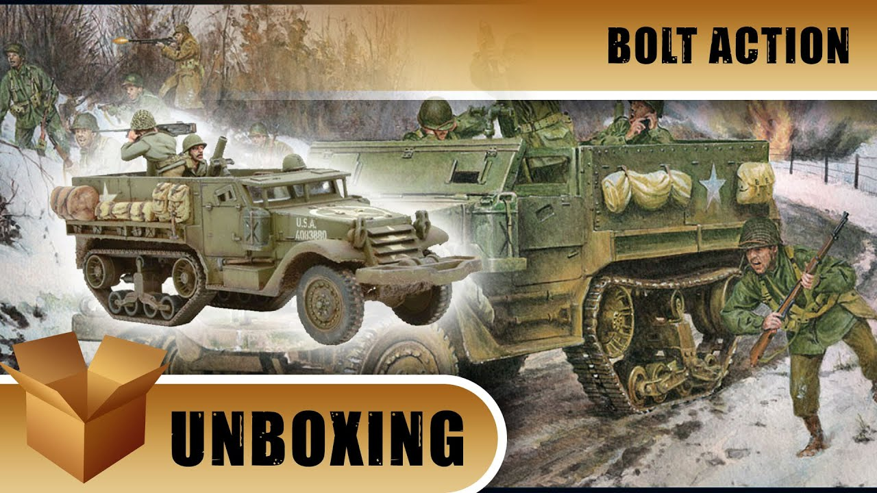 M21 Mortar Carrier Half-Track Bolt Action Warlord Games