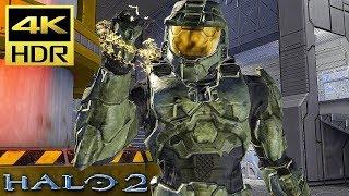 [4K HDR] HALO 2 - Xbox One X Gameplay (TMCC) @ 60ᶠᵖˢ UHD ✔