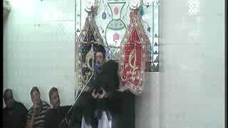 Allama Zamer Akhtar Naqvi  1st moharam Imam Bargah Chaharda Masoomeen Ancholi, Karachi, Pakistan