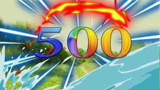 500 ПОДПИСЧИКОВ !
