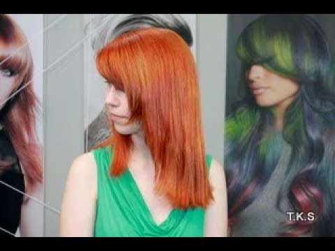 My long hair in autumn/winter color trend-line! Evas tutoral T ...