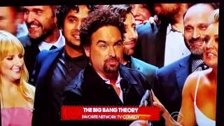 Big Bang Theory wins People's Choice Award 2015
