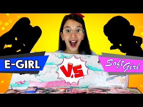 LOL Surprise! Amazing Surprise! E-GIRL VS SOFT GIRL | Luluca