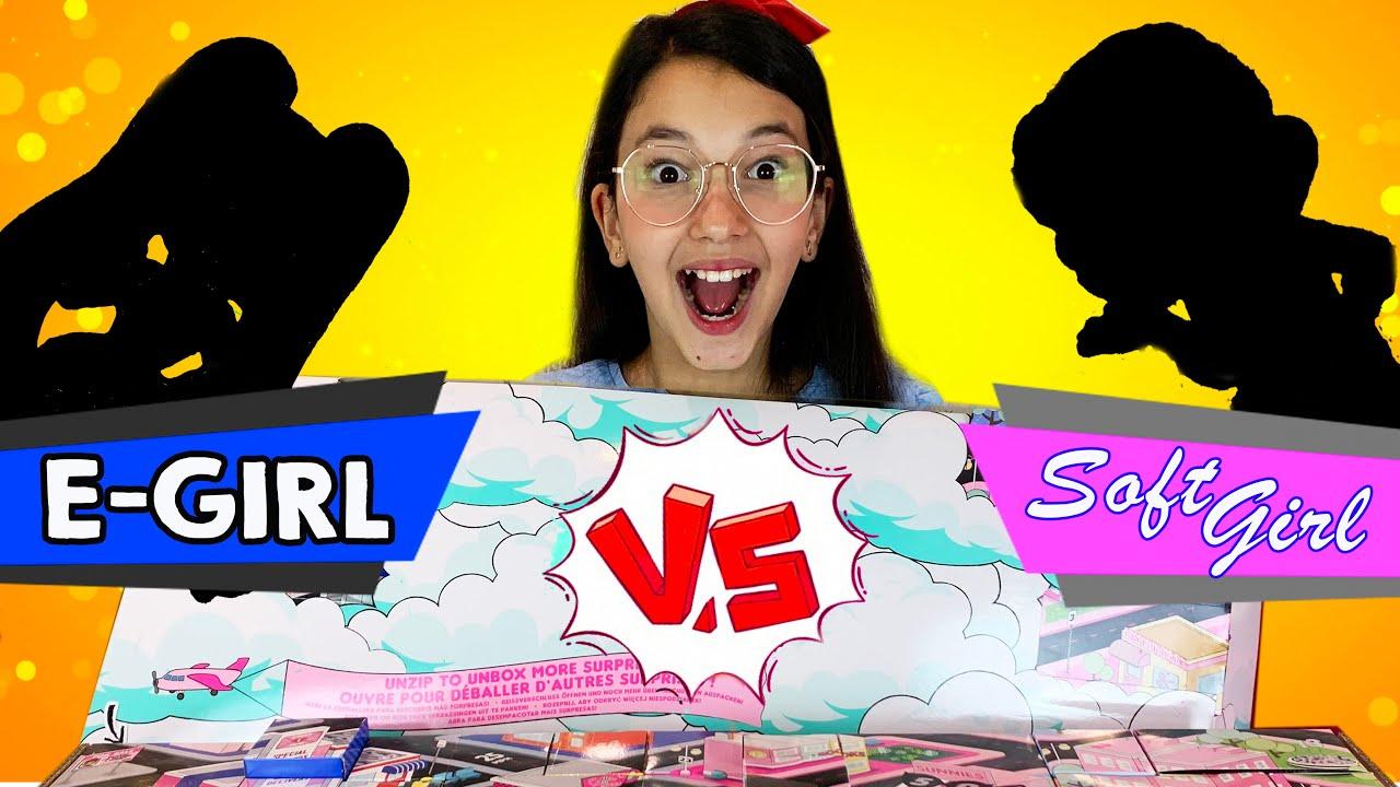 LOL Surprise! Amazing Surprise! E-GIRL VS SOFT GIRL | Luluca