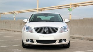 2013 and 2014 Buick Verano Turbo Drive Review and Road Test