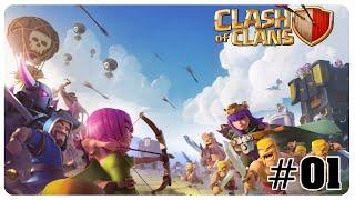 #01 Let's Play CLASH OF CLANS German/Deutsch Gameplay by Mäx