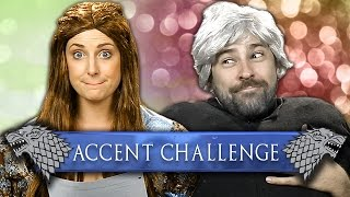 Accent Challenge: Game of Thrones Sansa Vlog!