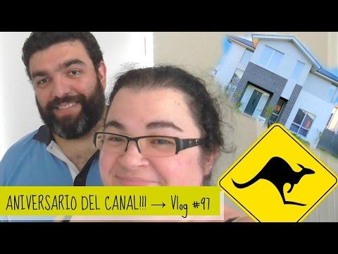 ANIVERSARIO DEL CANAL!!! - Vlog #97 - Nuestra vida en Australia