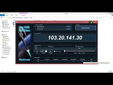 DDos Attack (Loic & Hoic)