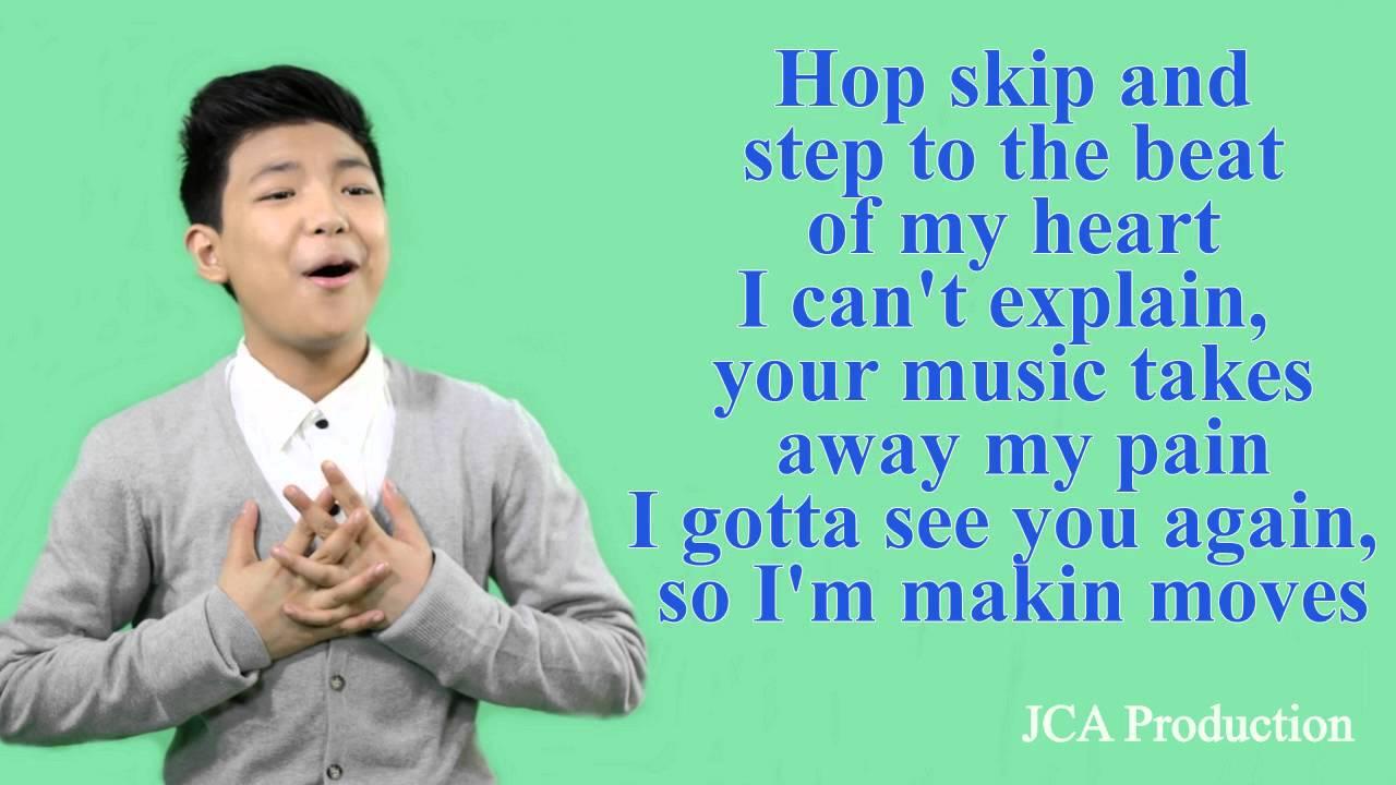 Makin Move - Darren Espanto with lyrics - YouTube
