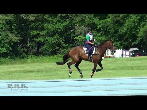 Julie Howard & Isn't She Sweet Groton House Horse Trials June 2018