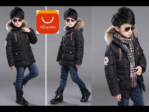 Зимнняя Куртка . куртка для подростков с AliExpress . Winter Jacket . Jacket For A Boy