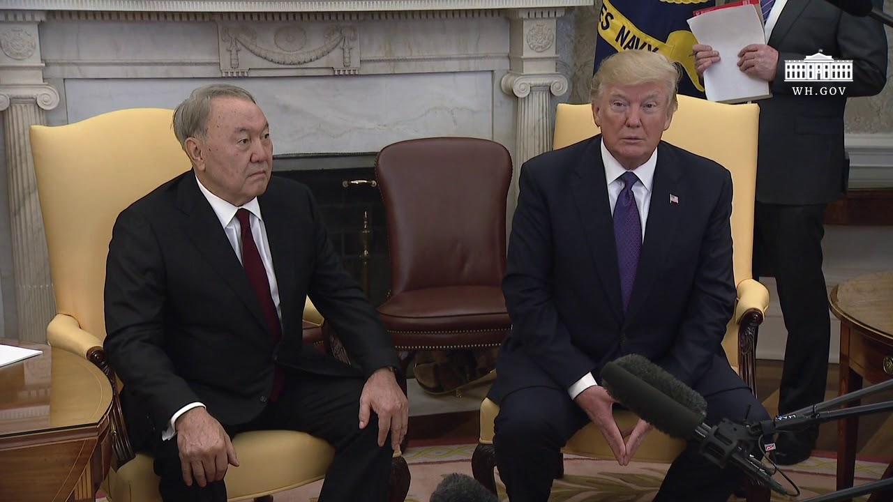 Nursultan Nazarbayev now 62