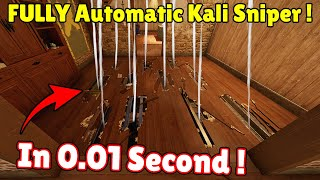 * Unlimited + Full Auto * Kali Sniper Opening Everything In 0.01 Seconds  - Rainbow Six Siege