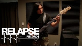"ABYSMAL DAWN – ""Perfecting Slavery"" Eliseo Garcia Bass Performance Video"