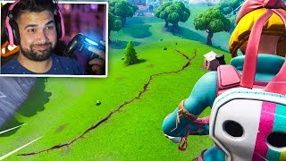 The Earthquake Just CRACKED The Map in Fortnite.. (Season 8)