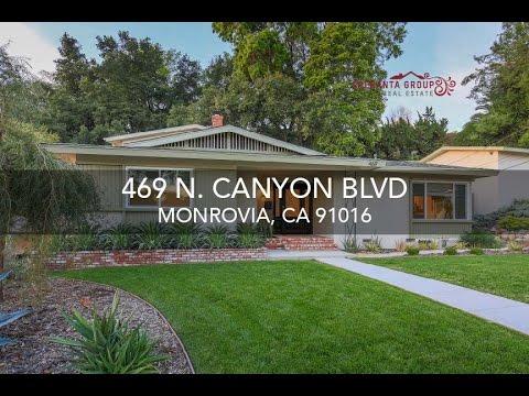 The Speranta Group Presents: 469 N. Canyon Blvd, Monrovia, CA