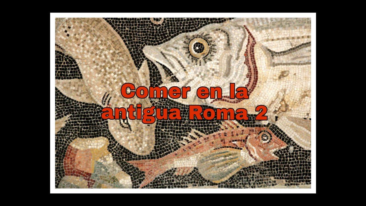 Comer en la antigua Roma 2