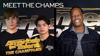 Mike Yung and Junior Creative Want To Perform For The WORLD! - America's Got Talent: The Champions