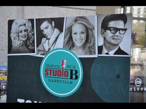 Nashville RCA Studio B Tour and Country Hall of Fame 2014