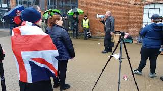 Dudley Brexit rally
